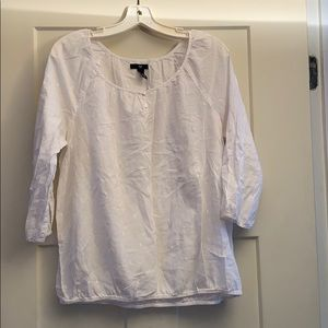 GAP Extremely Light Mildly Sheer Top
